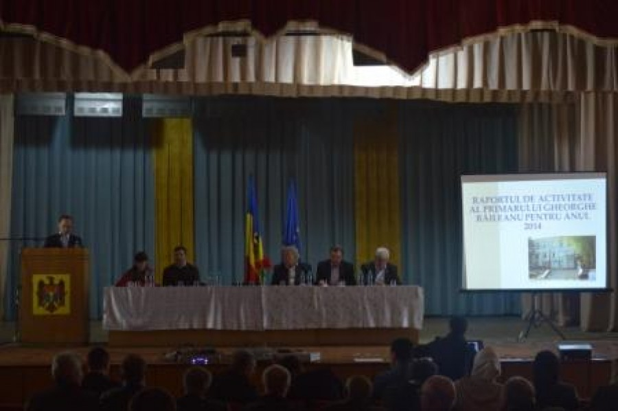 Raportul  de activitate al Primarului Gheorghe Răileanu pentru anii 2013-2014