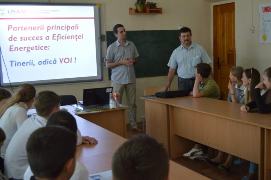 Campanie de promovare a eficienței energetice în Cimișlia