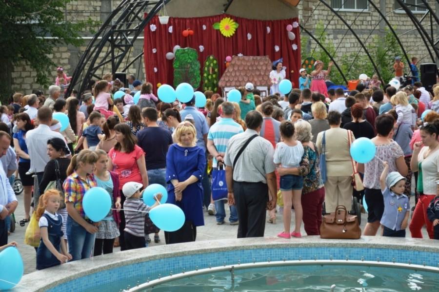 1 iunie organizat în Scuarul Copilăriei din Cimișlia