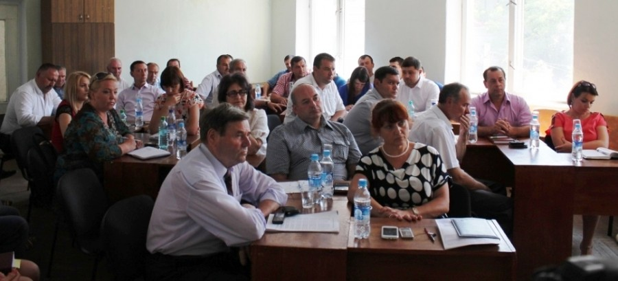 Ședința de inaugurare a consiliului orășenesc Cimișlia