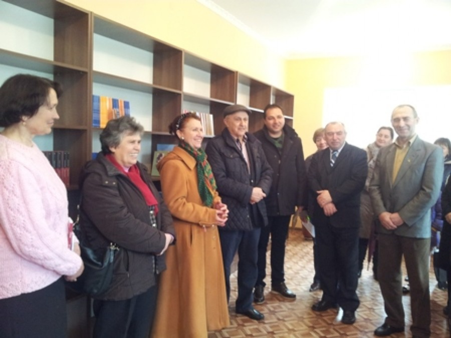 Donație din Prahova pentru Biblioteca din Cimișlia