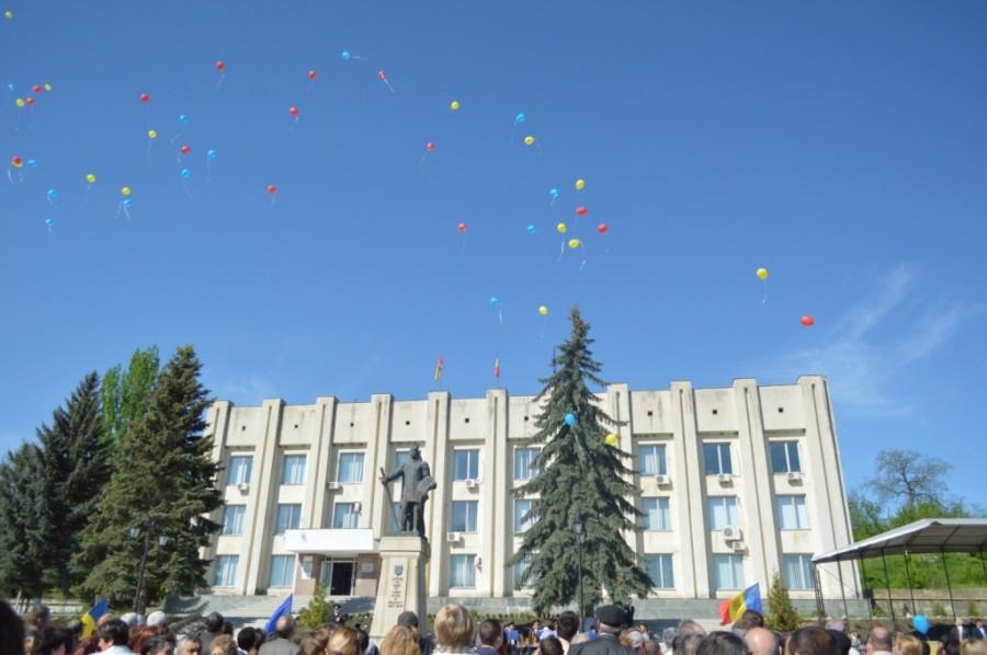 Astăzi la Cimișlia a fost sărbătorită ziua de 9 mai