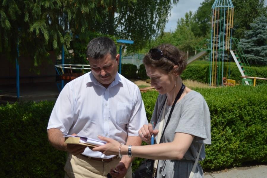 Vizita reprezentantului Ambasadei Japoniei la Cimișlia